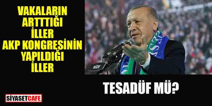 Karadeniz'deki vaka artışıyla AKP kongrelerinin ilişkisi var mı?