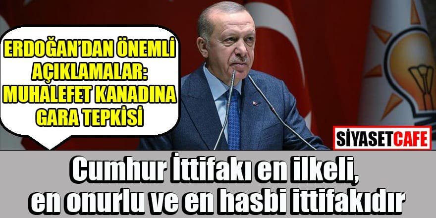 Grup toplantısında Erdoğan'dan önemli açıklamalar