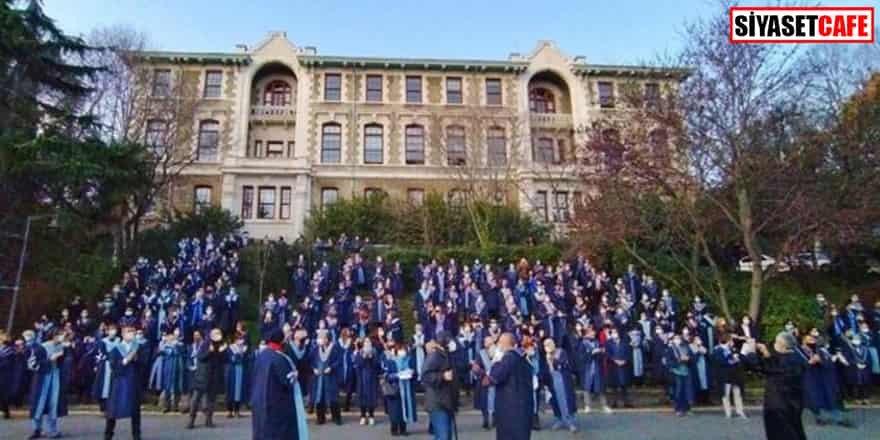 Boğaziçi Üniversitesi'nden eğitim kararı