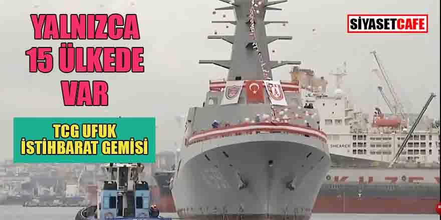 Yerli istihbarat gemimiz TCG UFUK'un envantere giriş tarihi belli oldu