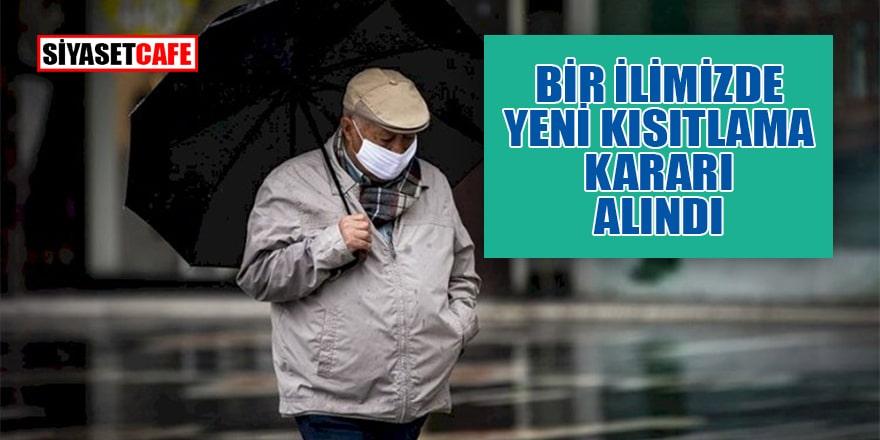 Balıkesir'de yeni kısıtlama kararı alındı