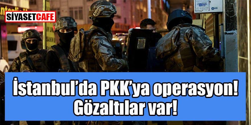 İstanbul'da PKK'ya büyük operasyon. Gözaltılar var...