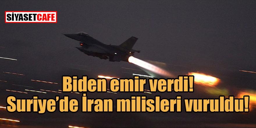 Biden 'vur' emri verdi...  Gece bombardımanında ABD - İran gerilimi arttı