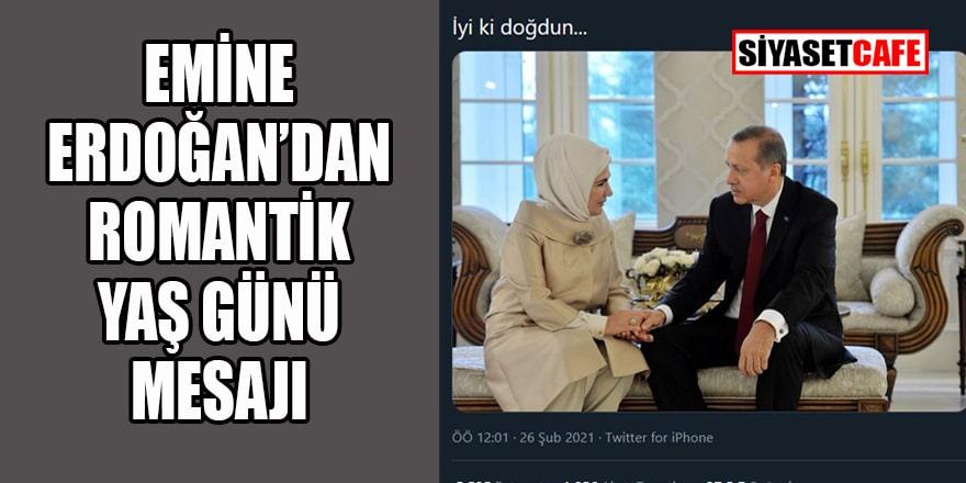 Emine Erdoğan'dan romantik paylaşım