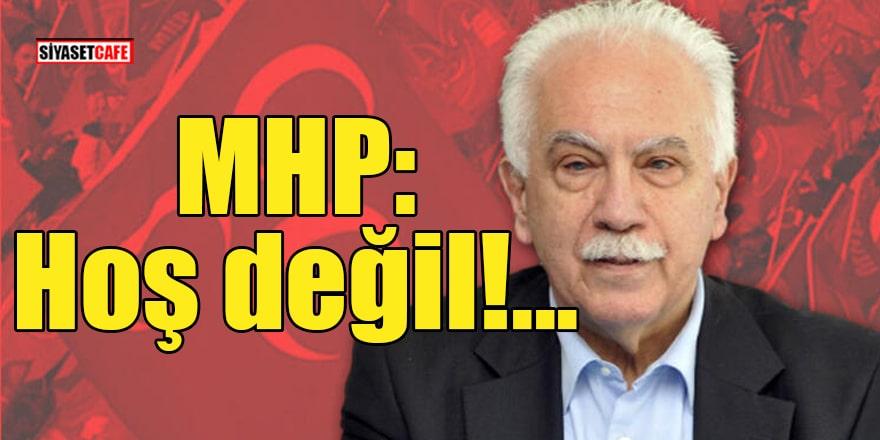 MHP'den Perinçek'e yanıt: Hoş değil!