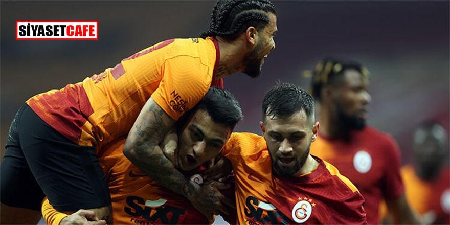 Galatasaray tam yol: 2-0