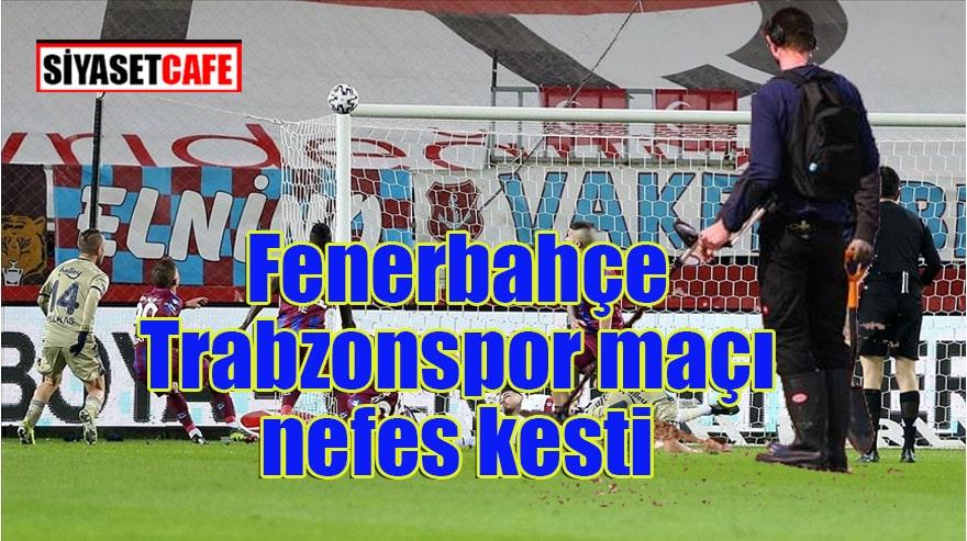 Üç puan Fenerbahçe'nin