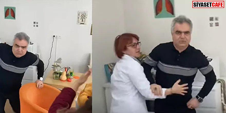 Sağlıkta şiddet: Bu kez doktordan geldi