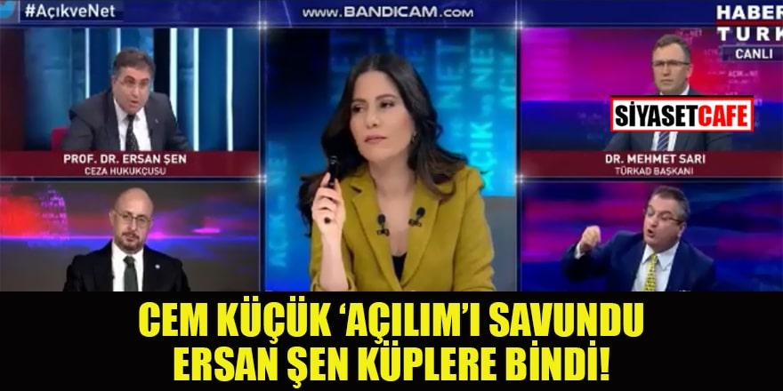 'Açılım'ı savunan Cem Küçük'e Ersan Şen'den tepki