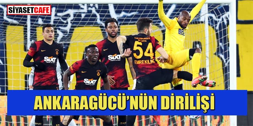 Ankaragücü-Galatasaray: 2-1