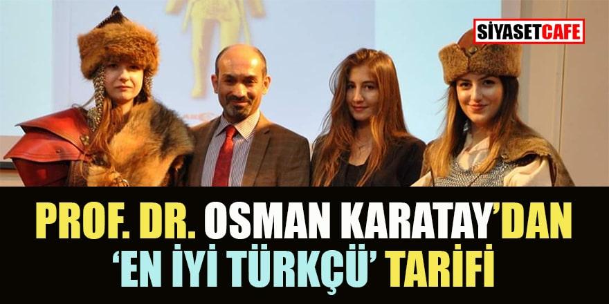 Yaşayan ünlü tarihçimizden 'En sıkı Türkçü' tarifi