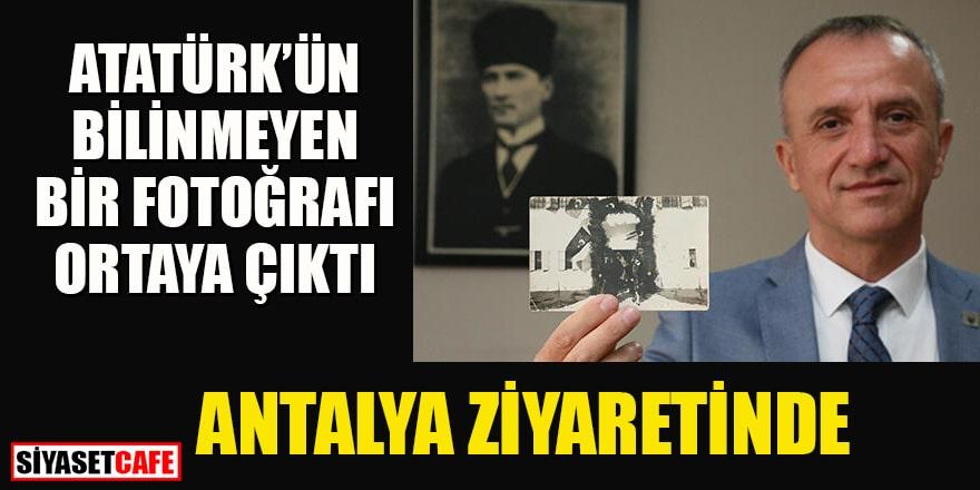 Atatürk'ün bugüne kadar yayınlanmamış fotoğrafı bulundu