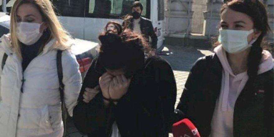Şehitlerimize hakaret eden kadın gözaltına alındı