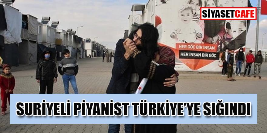 Suriyeli piyanist Adnan el Esmer Türkiye'ye sığındı