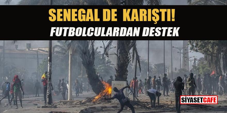 Muhalif lider gözaltına alınınca Senegal karıştı... Futbolculardan da destek