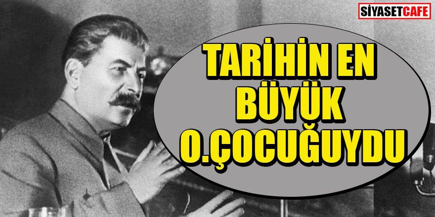 Atilla Taş'ta Stalin'i andı; Tarihin en büyük o.çocuğuydu