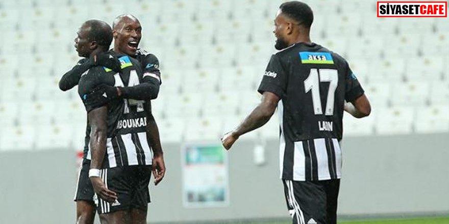 Zirvede yer değişikliği: Beşiktaş 2-1 Gaziantep FK