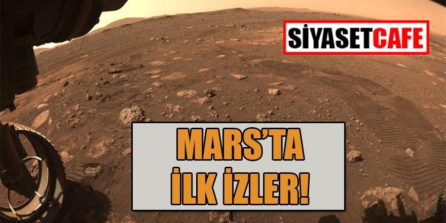 Perseverance'ın ilk Mars gezintisi