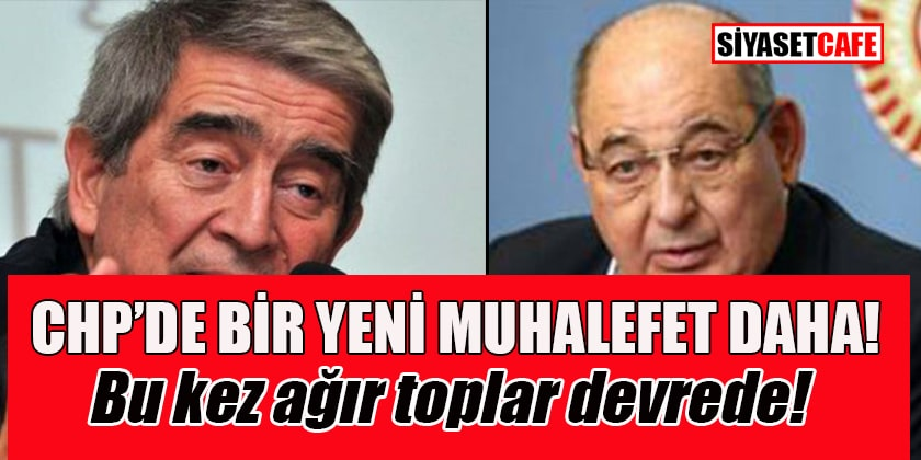 CHP'nin ağır topları 'Ulusal Birlik Kadro Hareketi' adıyla muhalefete başladı!
