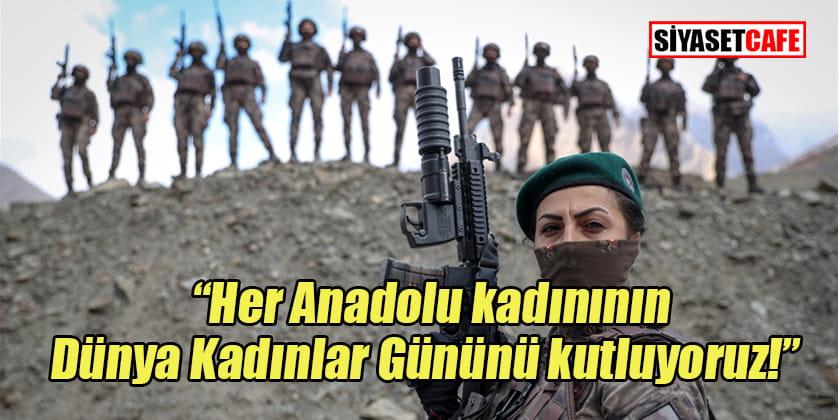 Özel Harekâtçı kadınlardan 8 Mart mesajı