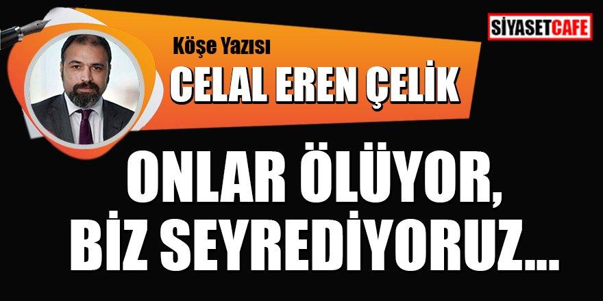 Celal Eren Çelik Yazdı: Onlar ölüyor, biz seyrediyoruz...