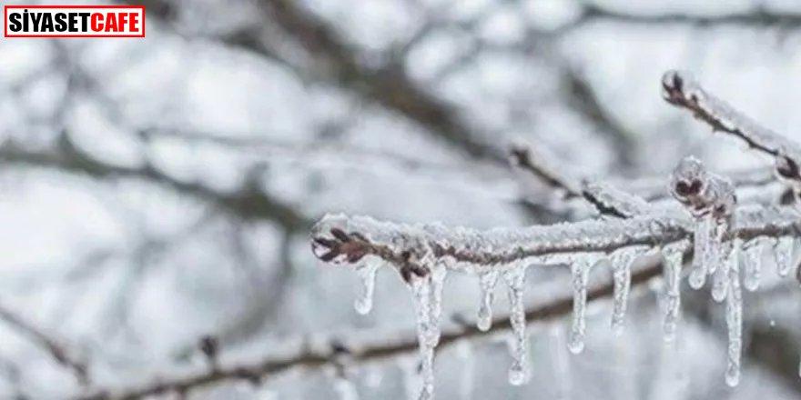 Marmara Bölgesi için uyarı: Don ve buzlanmaya dikkat