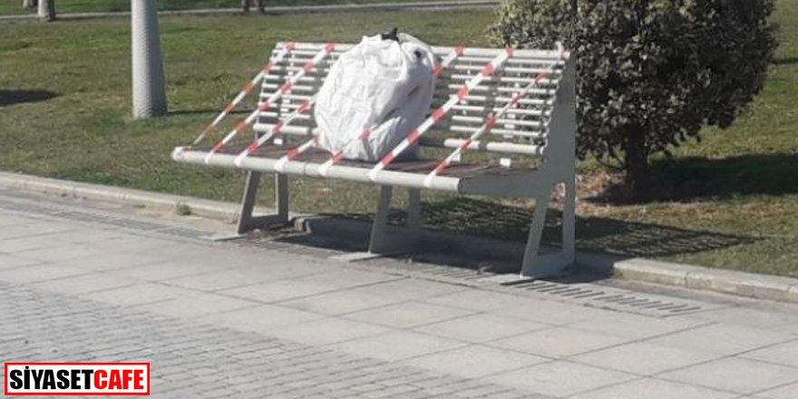 Sakarya'da panik: Arapça yazılı poşeti gören polisi aradı