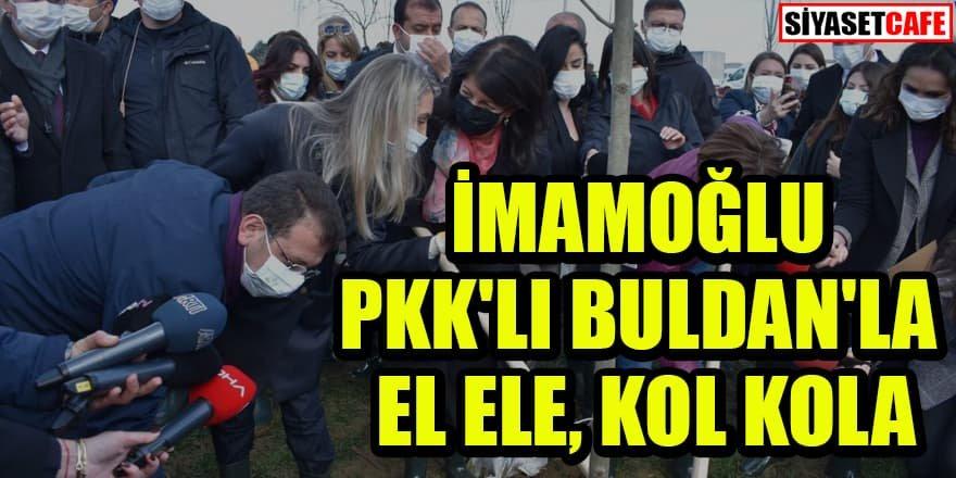 HDP'li Buldan ile İmamoğlu yine birlikte...