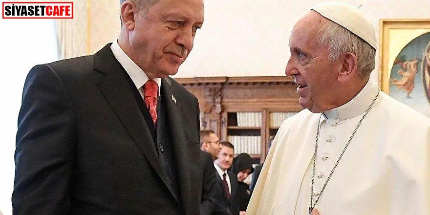 Papa'dan Erdoğan'a sürpriz telgraf