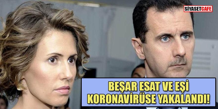 Suriye Devlet Başkanı Beşar Esad ve eşi Esma Esad'ın koronavirüs testleri pozitif çıktı!