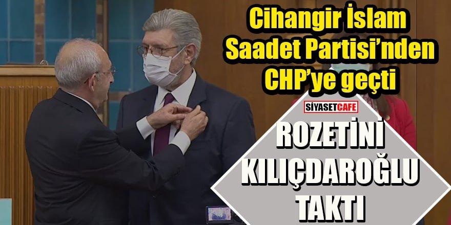 Saadet Partisinden istifa eden Cihangir İslam CHP'ye geri dönüyor