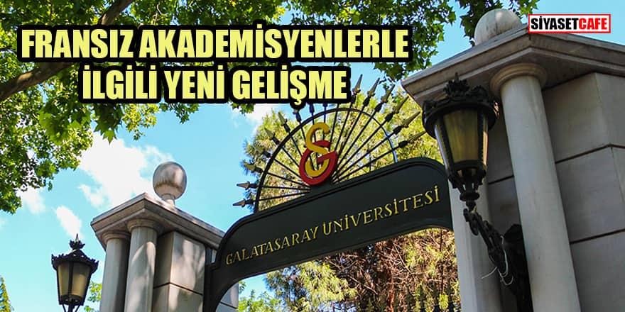 Galatasaray'ın kovulan 15 akademisyen hocasıyla ilgili yeni gelişme