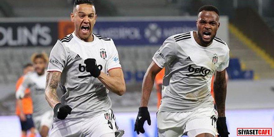 Lider düellodan galip ayrıldı: Başakşehir 2-3 Beşiktaş