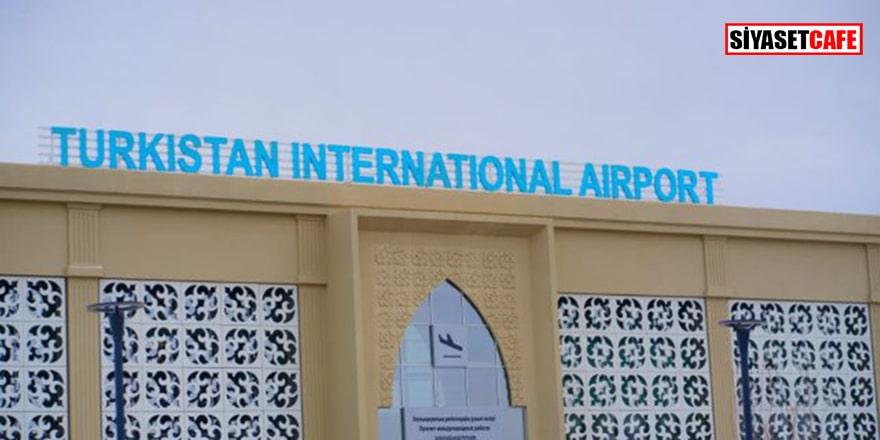 Türk dünyasına yeni kapı: Türkistan Uluslararası Havalimanı'ndan ilk sefer İstanbul'a