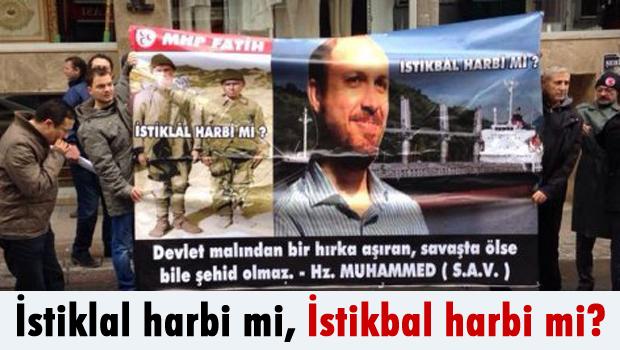 Erdoğan'ın vakfı TÜRGEV önünde eylem