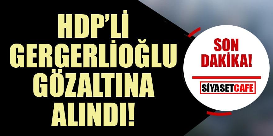 HDP'li Gergerlioğlu Meclis'te gözaltına alındı