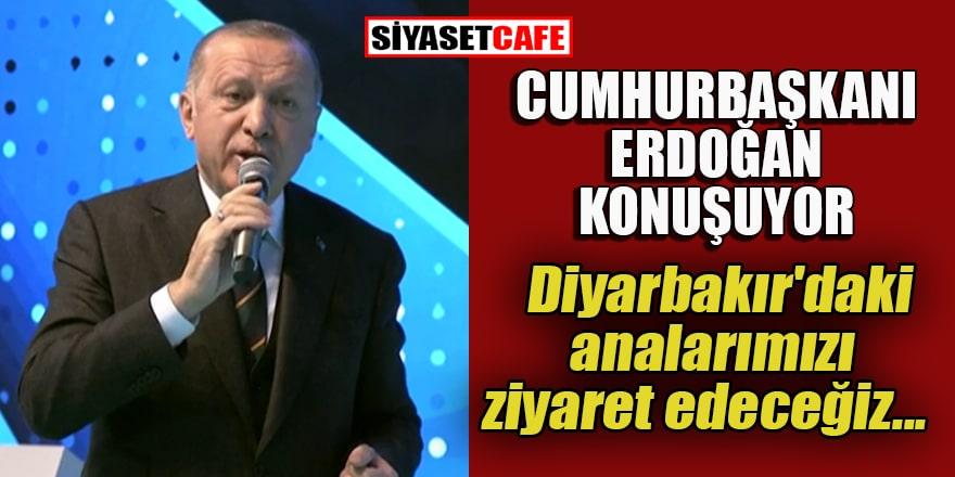 Cumhurbaşkanı ve AK Parti Genel Başkanı Erdoğan konuşuyor