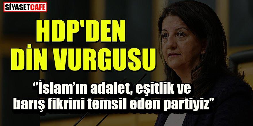 HDP'li Buldan'dan din vurgusu