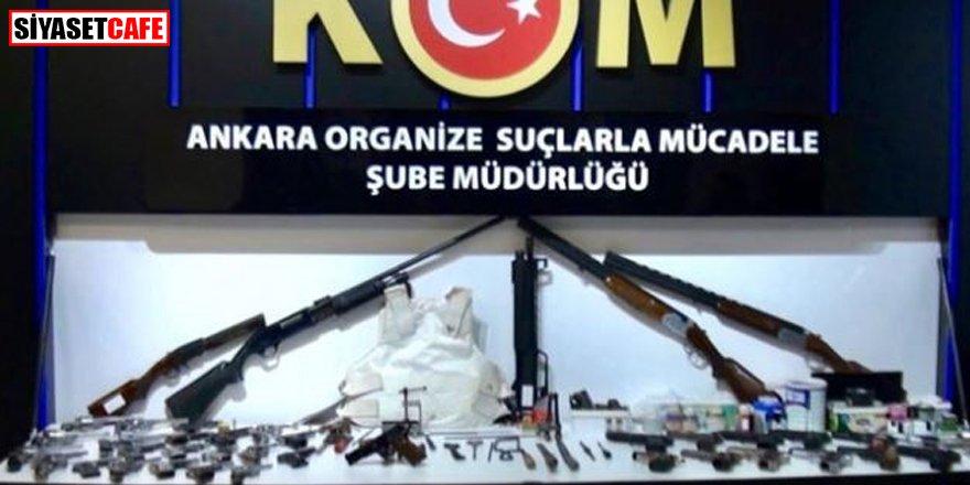 2 ilde silah kaçakçılığı operasyonu: 8 gözaltı