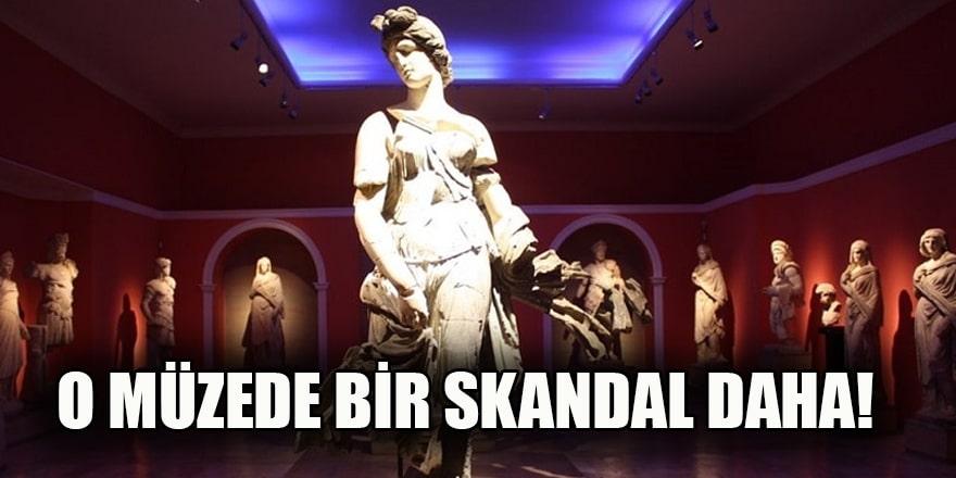 Arkeoloji müzesinde zimmet skandalı!