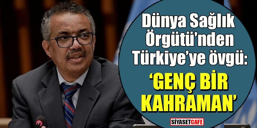 DSÖ'den Türkiye'ye övgü: 'Güçlü bir kahraman'