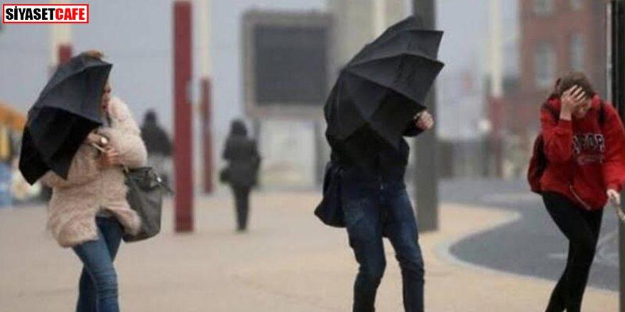 Yarın sabah saatlerine dikkat: Rüzgar ve fırtına uyarısı