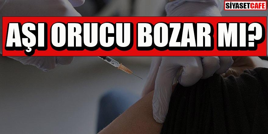 Aşı orucu bozar mı? Diyanet'ten açıklama