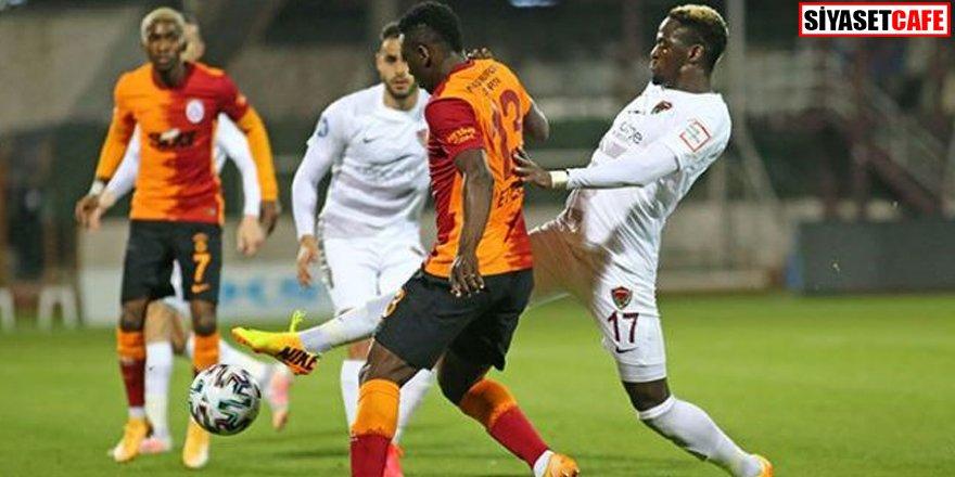 Galatasaray deplasmanda ağır yaralı: Hatayspor  3-0 Galatasaray