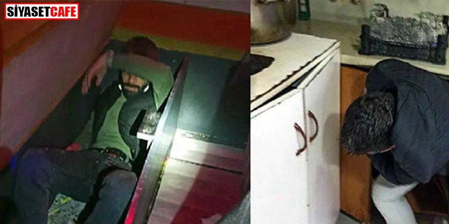 Eğlence mekanlarına operasyon: Kanepe ve dolabın içine saklanırken yakalandılar