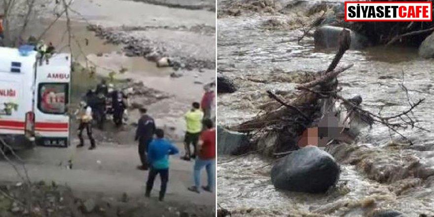Giresun'da korkutan olay: 4 işçi akıntıya kapıldı