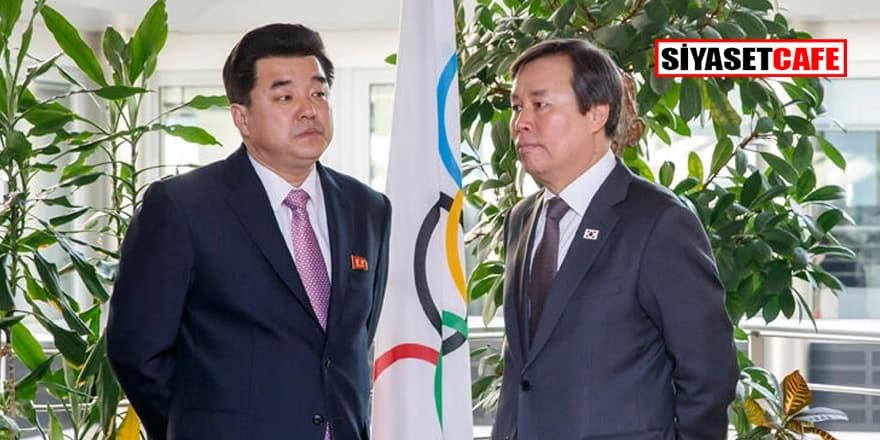 Kuzey Kore Tokyo Olimpiyatları'ndan çekildi!