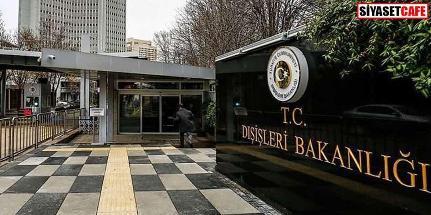 Çin'in Ankara Büyükelçisi Dışişleri'ne çağrıldı