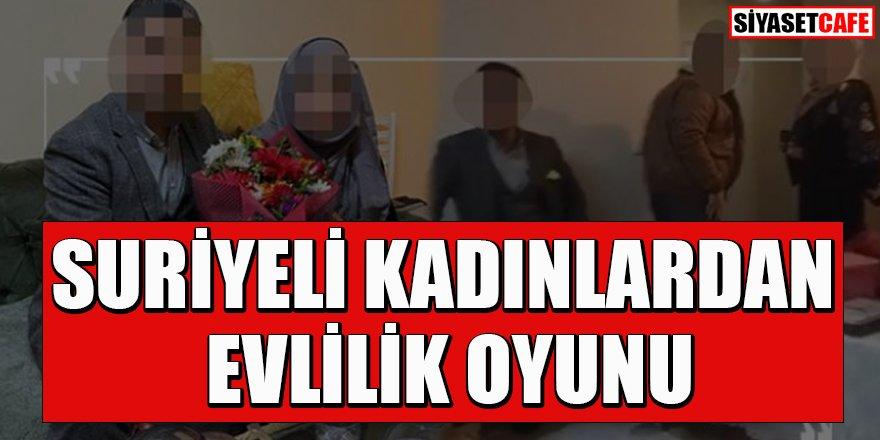 Suriyeli kadınlardan evlilik oyunu
