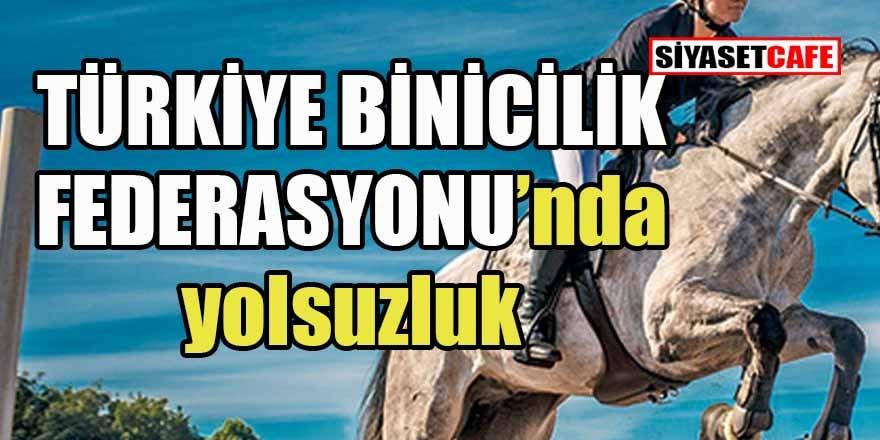 Atları da soymuşlar... Türkiye Binicilik Federasyonu'nda yolsuzluk